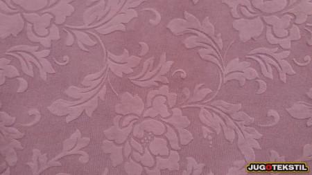 roze reljefni pliš