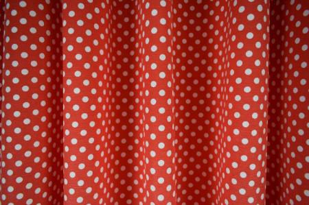 Draper cotton deco crveno bele tufne