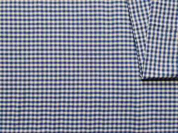 Pamučno platno plavo bele kockice