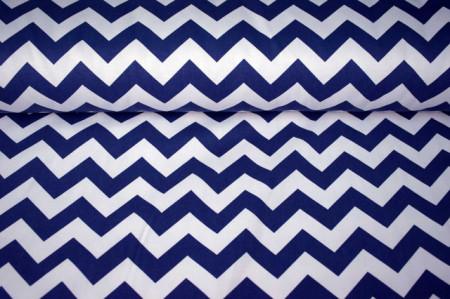 pamucno platno plavo belo zik zak