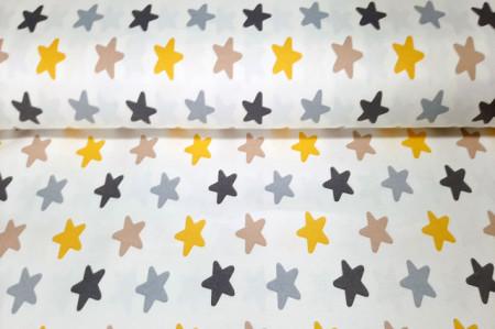 pamučno platno sa zvezdicama