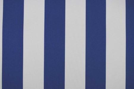 Tenda platno plavo belo