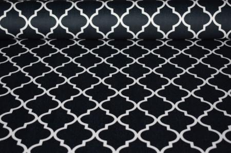 crni maroko mebl štof