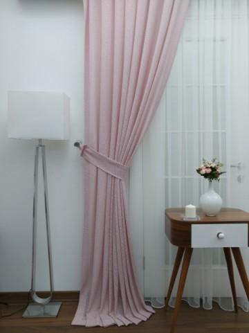Zavesa Brillant roze