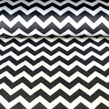 Pamučno platno crno belo col.02