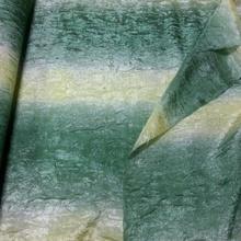 Zavesa kratka preliv boja zeleno bež