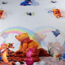 dečija zavesa winnie and pooh