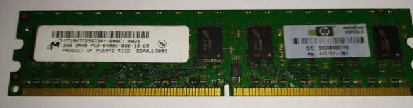 HP Micron 2GB DDR2 800MHz
