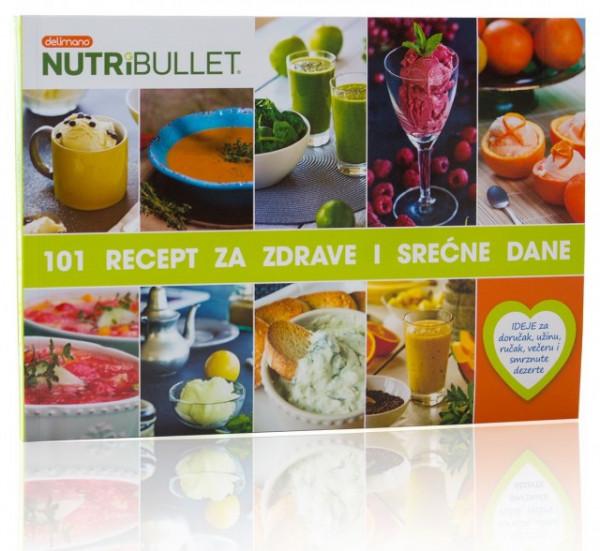 """Slika Knjiga """"101 Nutribullet recept za zdrave i srećne dane"""""""