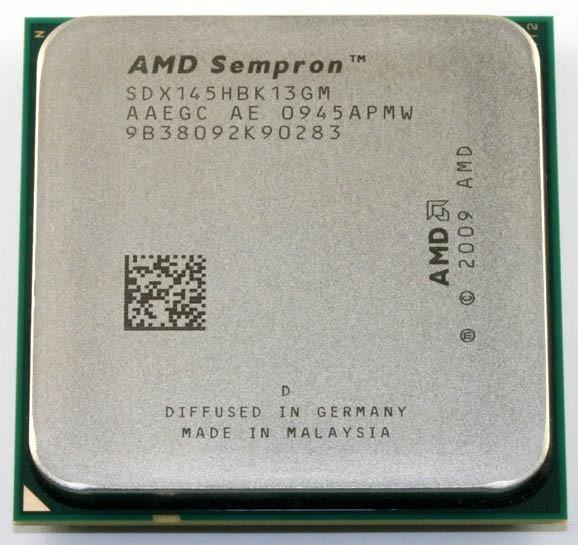 Slika AMD Sempron 145 2.8GHz 1MB AM3 BOX (Otključava se u Athlon II X2 4450e)