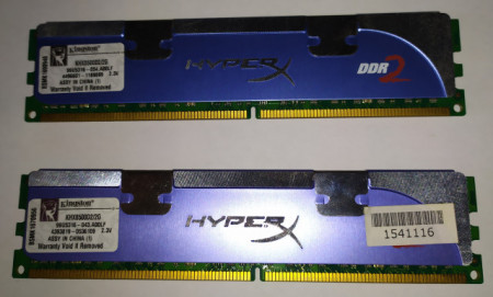 Slika Kingston HyperX Blue 2x2GB DDR2 1066MHz CL5