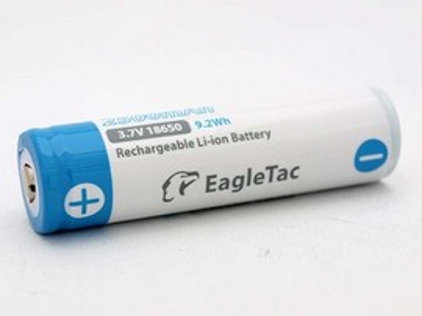 EagleTac 2500mAh 18650 Li-Ion IC Protected