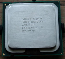 Slika Intel Core™2 Duo E8400 3.0GHz 6MB LGA775 BOX