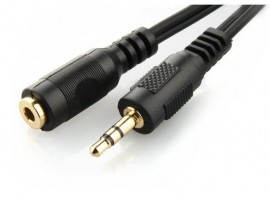 Slika Premium 3.5mm Extension Stereo Audio Cable 5m (Gold Plated Connectors)