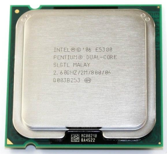 Intel Pentium Dual-Core E5300 2.6GHz 2MB LGA775 BOX