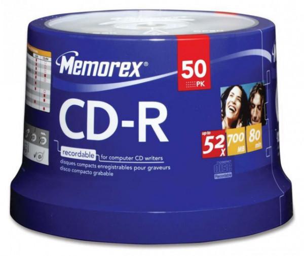 Memorex CD-R 700MB 52X