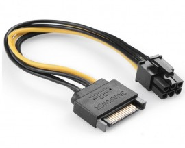 Slika PCI-Express 6 Pin Power Adapter from Single SATA Power