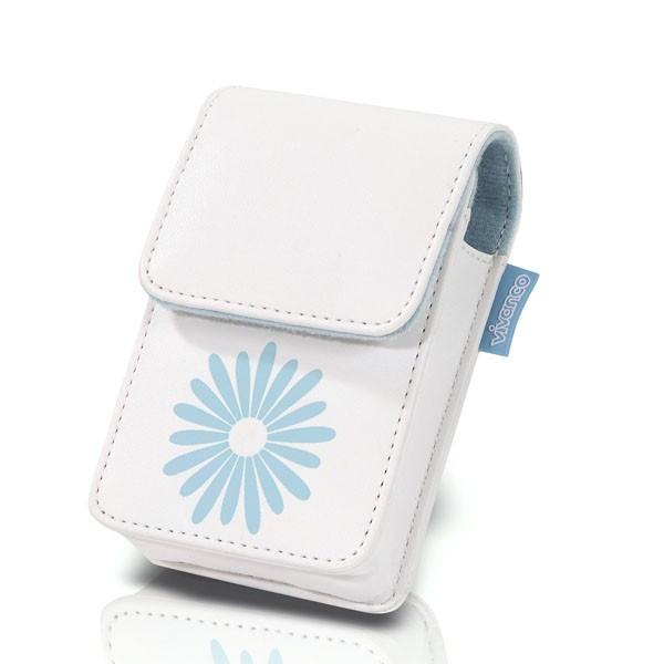 Vivanco Digital Camera Case ''Flower'' Blue