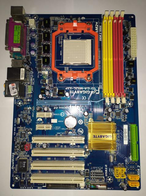 Slika Gigabyte GA-M52L-S3P AM2+ (REV. 1.0)