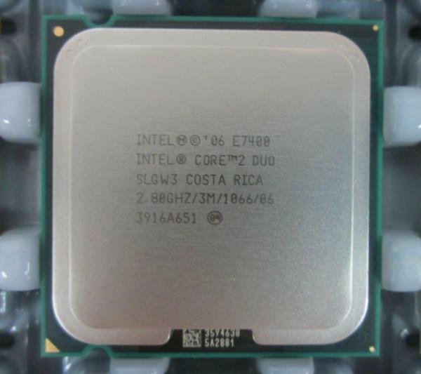 Slika Intel Core™2 Duo E7400 2.8GHz 3MB LGA775 BOX