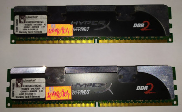 Slika Kingston HyperX Black 2x2GB DDR2 1066MHz CL5
