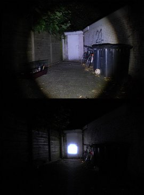 Slika POLICE LED Baterijska Lampa 150W sa optičkim zumom i strobom