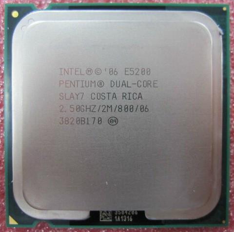 Slika Intel Pentium Dual-Core E5200 2.5GHz 2MB LGA775 BOX