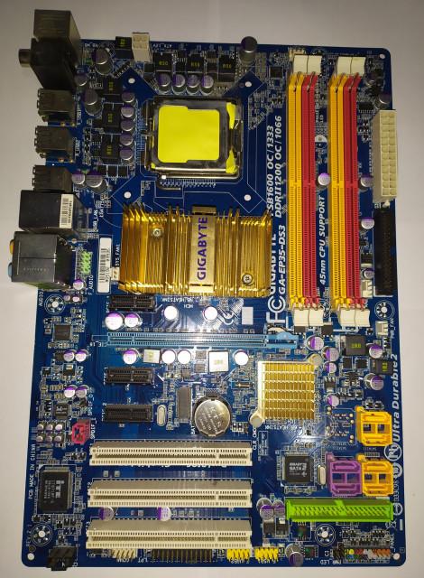 Gigabyte GA-EP35-DS3 LGA775 (REV. 2.1)