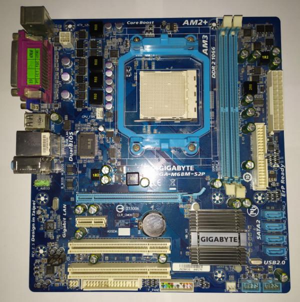 Slika Gigabyte GA-M68M-S2P AM2+/AM3 (REV. 2.3)