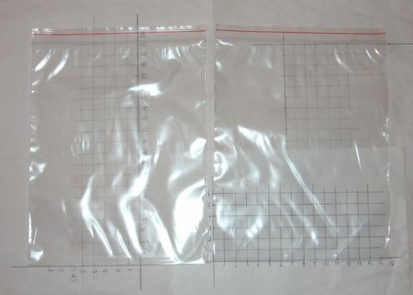 Slika ZIP kesice sa patent zatvaračem (160mm x 200mm, 100 komada)