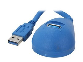 USB 3.0 (5Gbps) SuperSpeed Desktop Dock Extension Cable (1.5m)