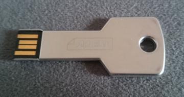Alphabet (BMW) USB 2.0 Flash Stick Key 8GB - Made in Germany
