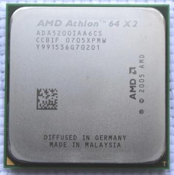 AMD Athlon 64 X2 5200+ 2.7GHz 1MB AM2 BOX