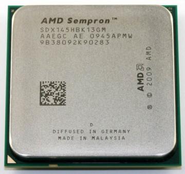 AMD Sempron 145 2.8GHz 1MB AM3 BOX (Otključava se u Athlon II X2 4450e)