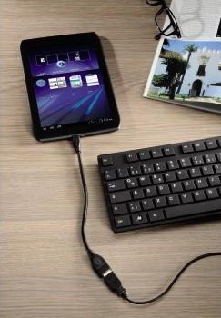 Hama USB 2.0 Micro 5-pin to USB Female OTG Data Host Cable (za mobilni telefon/tablet)