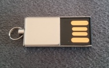 Alphabet (BMW) USB 2.0 Flash Stick 2GB - Made in Germany