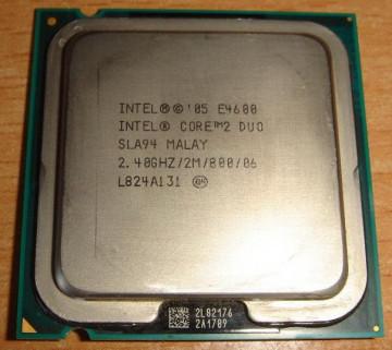 Intel Core™2 Duo E4600 2.4GHz 2MB LGA775 BOX