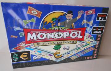 MONOPOL SRBIJA - Trgovina Nekretninama (Društvena Igra)