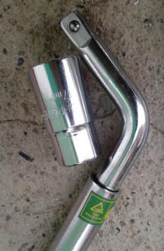 """Teleskopski 1/2"""" gedora ključ za demontiranje točkova automobila 17-19mm"""