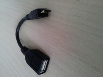 USB 2.0 Micro 5-pin to USB Female OTG Data Host Cable (za mobilni telefon/tablet)