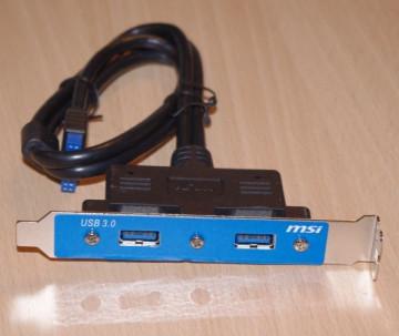 2 x USB 3.0 Ports Bracket (USB 3.0 port na zadnjoj strani kućišta)