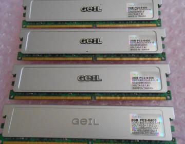 GeIL Ultra 2x2GB DDR2 800MHz CL5