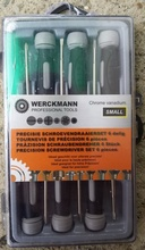 Werckmann Germany - Profesionalni set preciznih šrafcigera 6-in-1