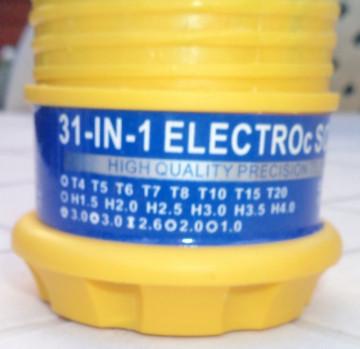 31-in-1 Magnetic Screwdriver Tool Kit (profesionalni set preciznih odvijača)