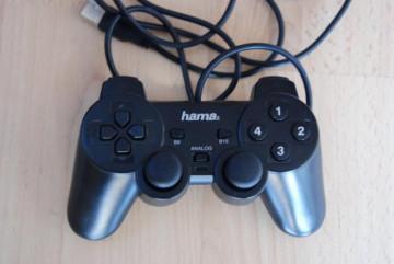 Hama BlackForce USB Gamepad (dual analog stick 360°, dual vibration)