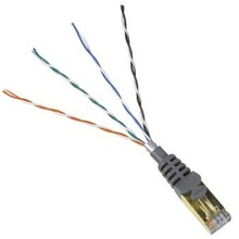 Hama CAT 5e Gigabit Network STP Cable 0.5m (gold-plated, shielded, grey)