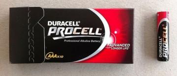 Duracell Procell 10xAAA (industrijske alkalne baterije)