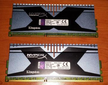 Kingston HyperX Predator 2x4GB DDR3 2400MHz CL11