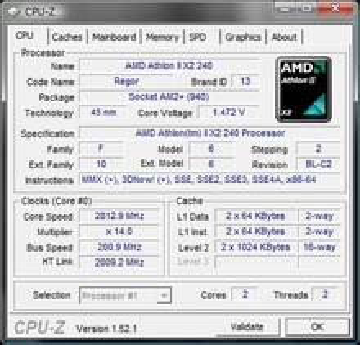AMD Athlon II X2 240 2.8GHz 2MB AM3 BOX