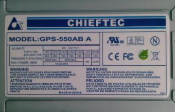 Chieftec Smart GPS-550AB-A 550W